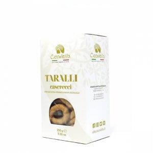 taralli pugliesi caserecci con olio extravergine di oliva Ciccolella