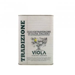 olio extravergine di oliva tradizione viola 3lt