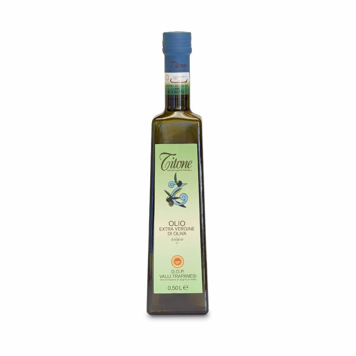Olio extravergine di oliva Valli Trapanesi DOP e BIO