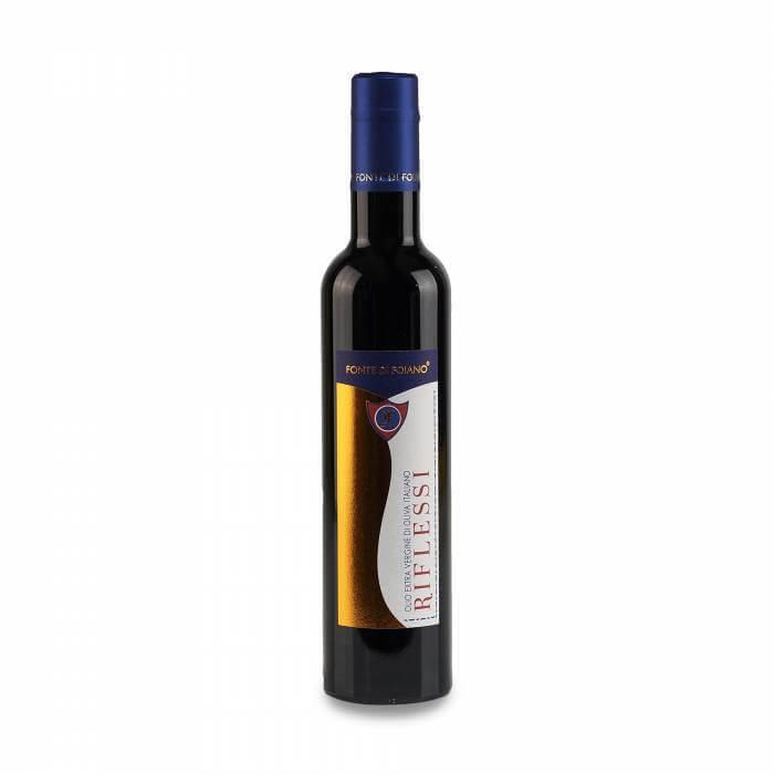 """L'olio extravergine di oliva """"Riflessi"""""""